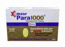 Emzor Paracetamol Caplet 1000mg -10