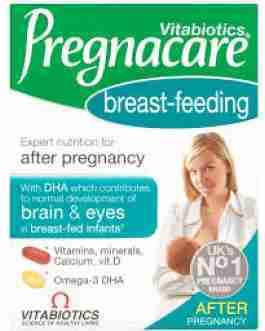 VITABIOTICS PREGNACARE BREAST-FEEDING X84
