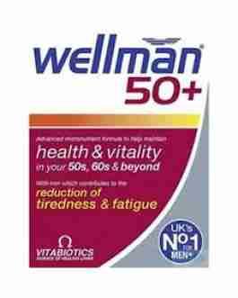 VITABIOTICS WELLMAN 50+ X30