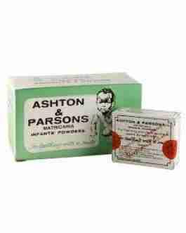 ASHTON & PARSONS TEETHING POWDER x20