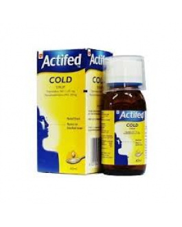 ACTIFED SYRUP 60ML