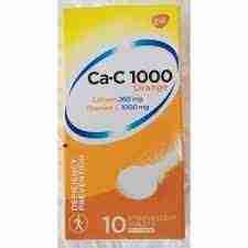 CA-C 1000 Effervescent Tablet -10