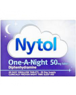 NYTOL ONE-A-NIGHT 50MG X20