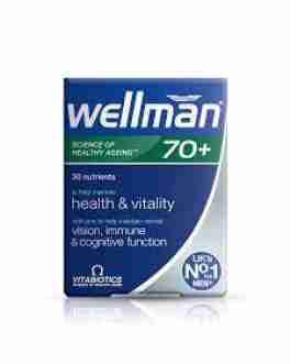 VITABIOTICS WELLMAN 70+ X30