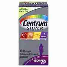 Centrum Silver Women 50+ Tablets -100