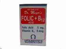 Dr Meyer's Folic + B12 Tablets -100