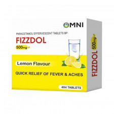 Fizzdol Effervescent Tablet 500mg -16