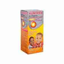 Nurofen For Children 3months to 9years Orange Suspension 100mg/5ml-100ml